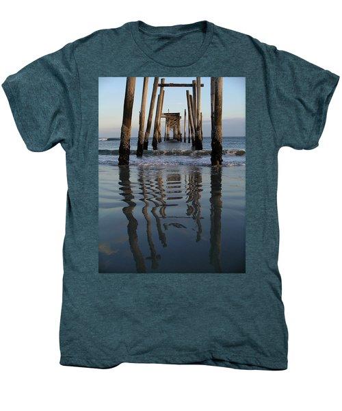 Pier Reflections Men's Premium T-Shirt