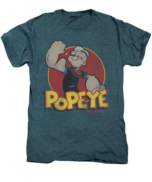 Popeye - Retro Ring Men's Premium T-Shirt by Brand A