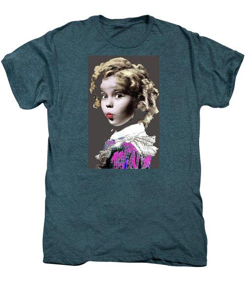 Shirley Temple Publicity Photo Circa 1935-2014 Men's Premium T-Shirt