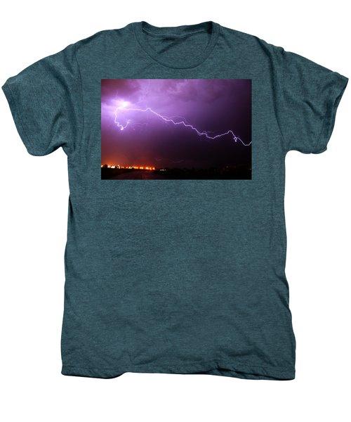 Nebraska Cells Redevloping Over South Central Nebraska Men's Premium T-Shirt