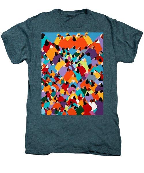 Powerfull Ywcagla Men's Premium T-Shirt