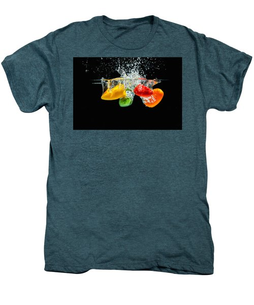 Splashing Paprika Men's Premium T-Shirt