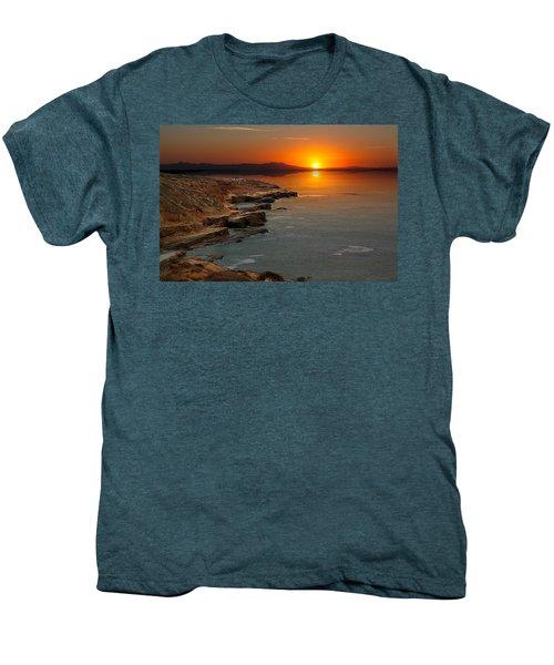 A Sunset Men's Premium T-Shirt by Lynn Geoffroy