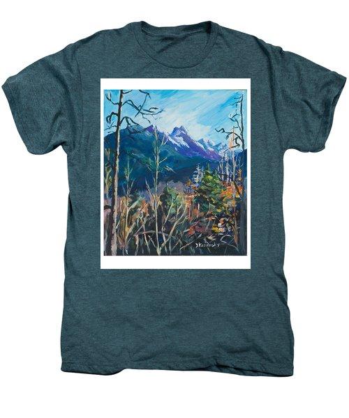 Alaska Autumn Men's Premium T-Shirt