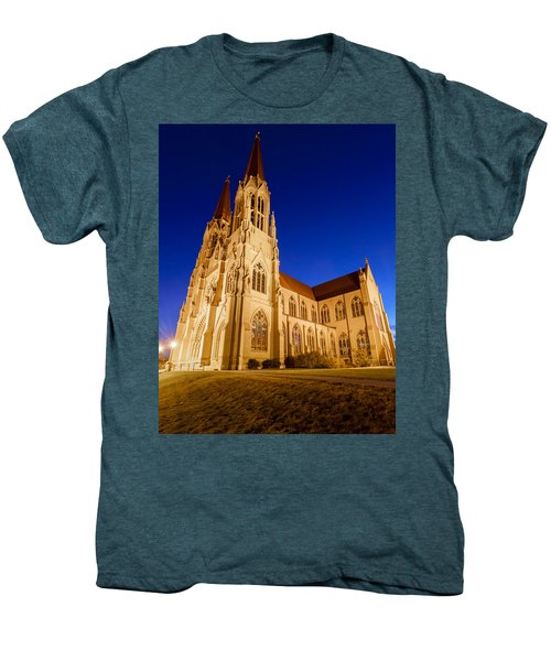 Morning At The Cathedral Of St Helena Men's Premium T-Shirt