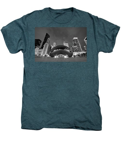 Cloud Gate And Skyline Men's Premium T-Shirt