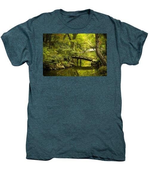 Dreamy Japanese Garden Men's Premium T-Shirt