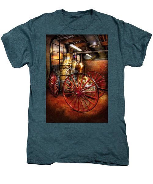 Fireman - One Day A Long Time Ago  Men's Premium T-Shirt
