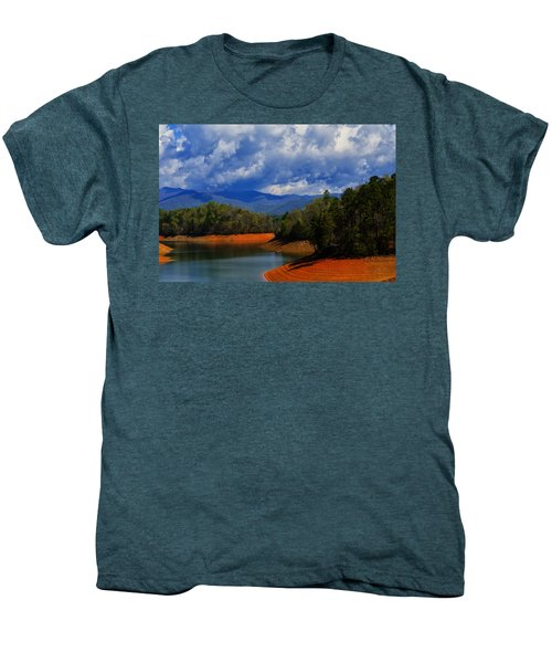 Fontana Lake Storm Men's Premium T-Shirt