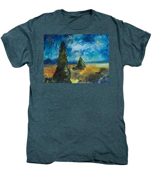 Emerald Spires Men's Premium T-Shirt