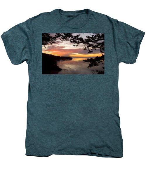 Ocean Sunset Deception Pass Men's Premium T-Shirt