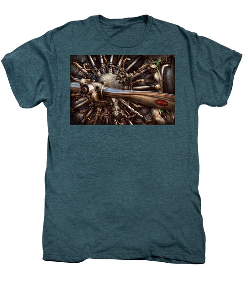 Pilot - Plane - Engines At The Ready  Men's Premium T-Shirt