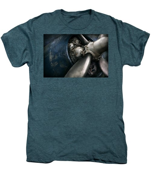 Plane - Pilot - Prop - You Are Clear To Go Men's Premium T-Shirt