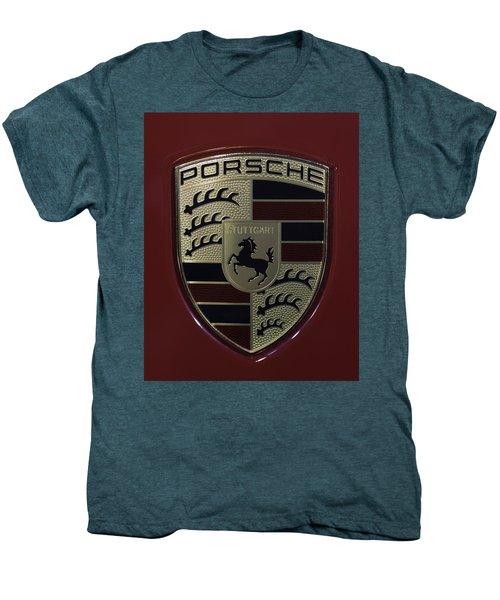 Porsche Emblem Men's Premium T-Shirt