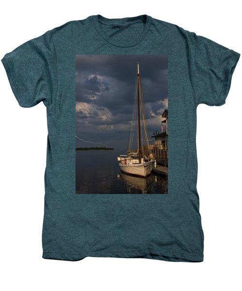 Preparing For The Storm Men's Premium T-Shirt