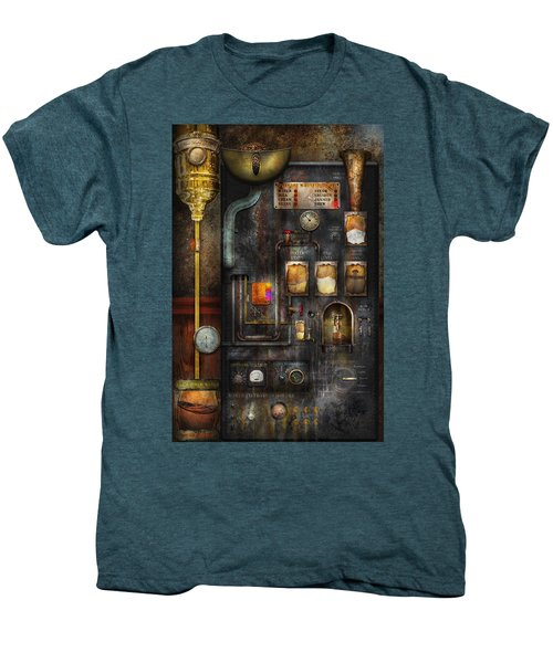 Steampunk - All That For A Cup Of Coffee Men's Premium T-Shirt