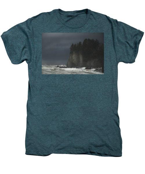 Storm At Lapush Washington State Men's Premium T-Shirt