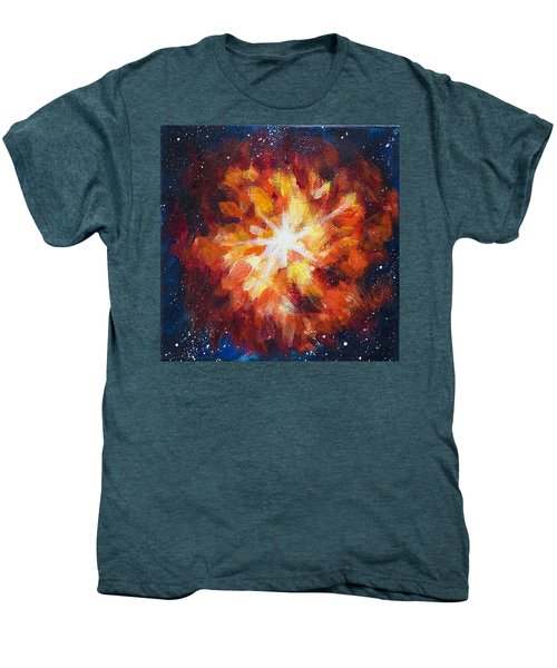Supernova Explosion Men's Premium T-Shirt