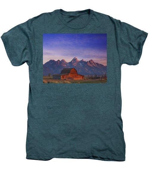 Teton Sunrise Men's Premium T-Shirt
