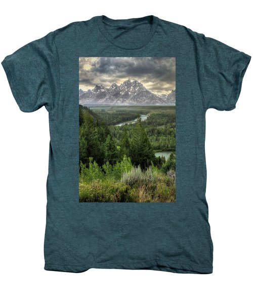 Teton Visions Men's Premium T-Shirt