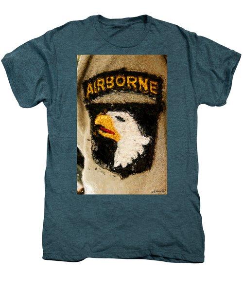 The 101st Airborne Emblem Painting Men's Premium T-Shirt