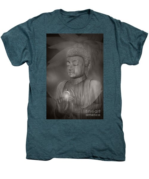 The Path Of Peace Men's Premium T-Shirt by Sharon Mau