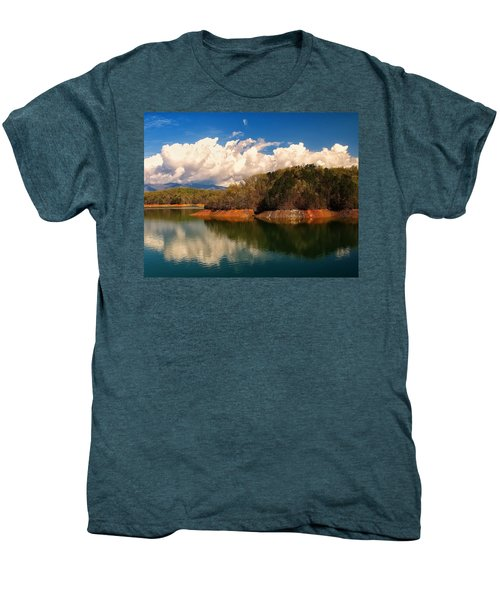 Thunderstorm Rolling Over The Smokies Men's Premium T-Shirt