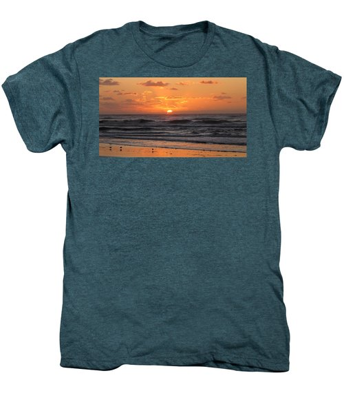 Wildwood Beach Here Comes The Sun Men's Premium T-Shirt by David Dehner
