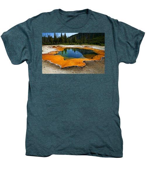 Hot Springs Yellowstone Men's Premium T-Shirt