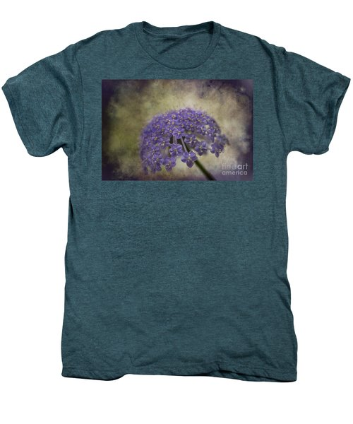 Men's Premium T-Shirt featuring the photograph Moody Blue by Clare Bambers