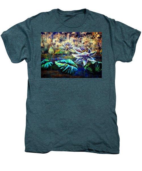 White Lotus Men's Premium T-Shirt