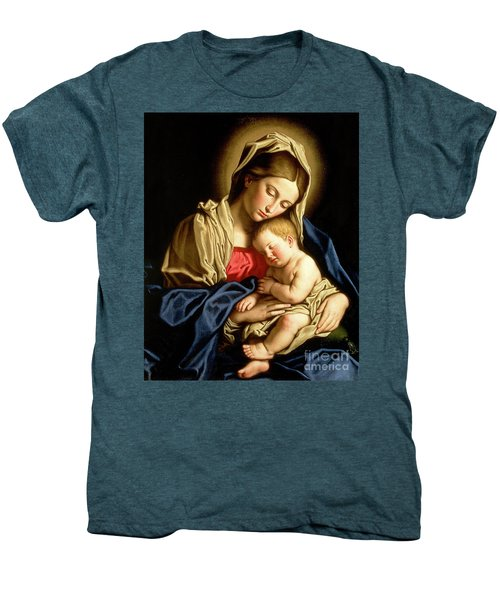 Madonna And Child Men's Premium T-Shirt