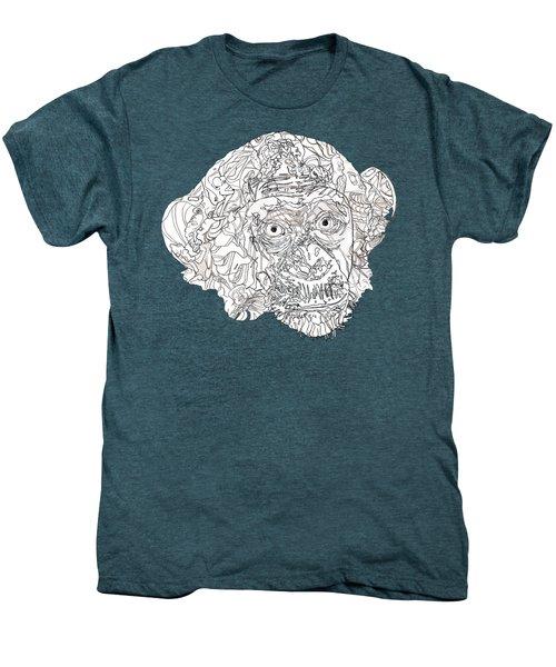 Monkey Men's Premium T-Shirt by Jacob Hurley