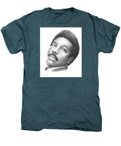 Wilson Pickett Men's Premium T-Shirt by Greg Joens