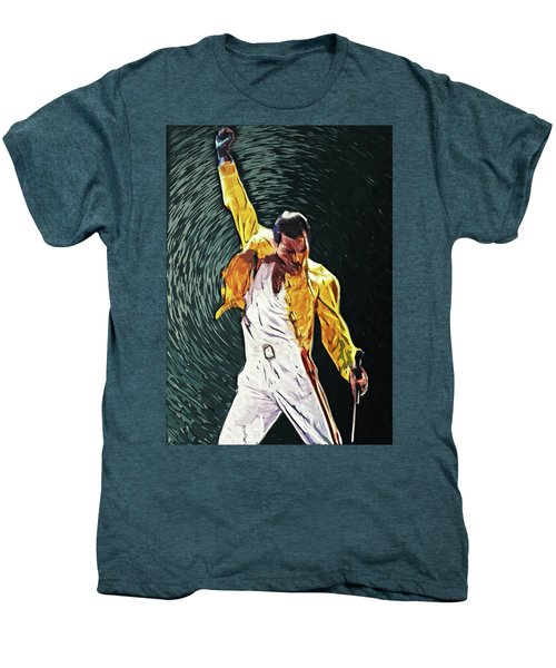 Freddie Mercury Men's Premium T-Shirt