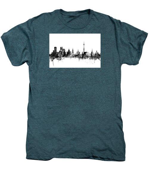 Moscow Russia Skyline Men's Premium T-Shirt