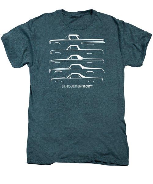 Pickupino Silhouettehistory Men's Premium T-Shirt by Gabor Vida