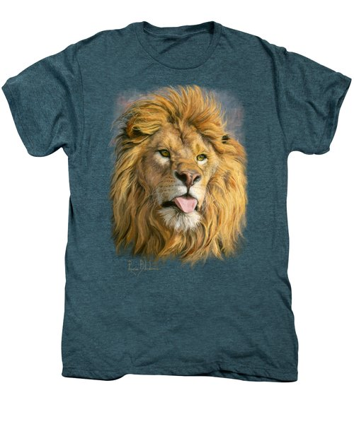 Silly Face Men's Premium T-Shirt by Lucie Bilodeau