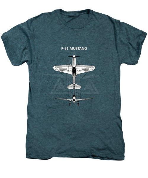 P-51 Mustang Men's Premium T-Shirt