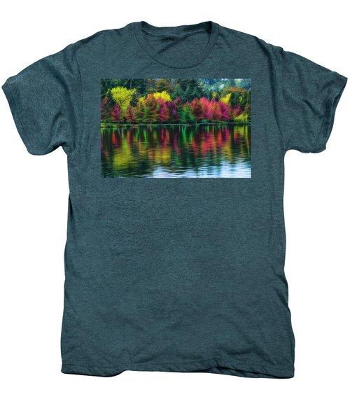 Autumn At Green Lake Seattle Men's Premium T-Shirt