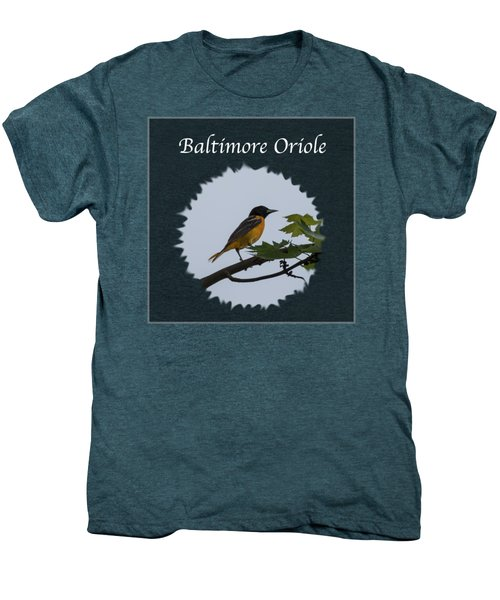 Baltimore Oriole  Men's Premium T-Shirt by Jan M Holden