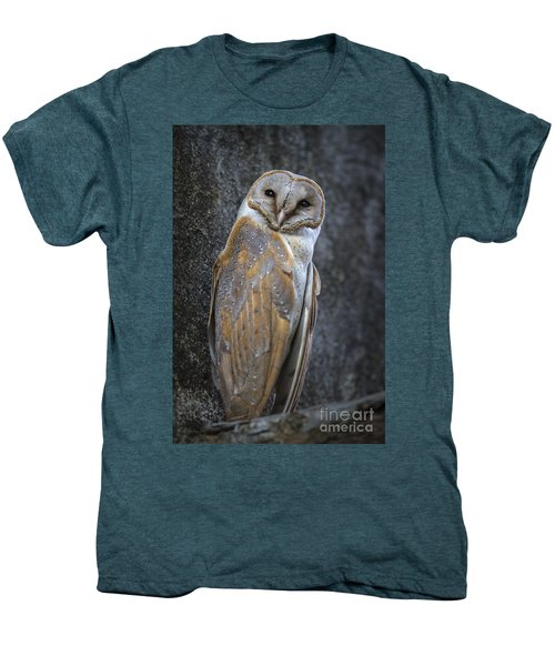 Barn Owl Men's Premium T-Shirt