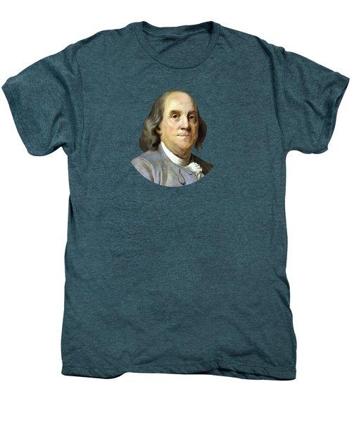 Benjamin Franklin Men's Premium T-Shirt by War Is Hell Store