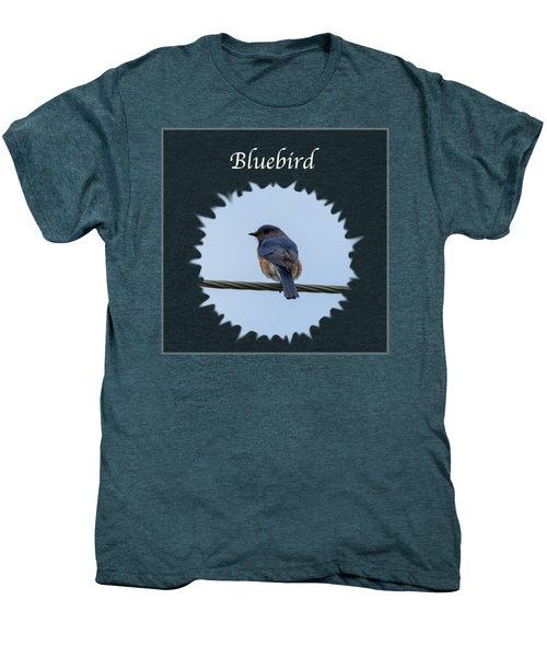 Bluebird Men's Premium T-Shirt by Jan M Holden