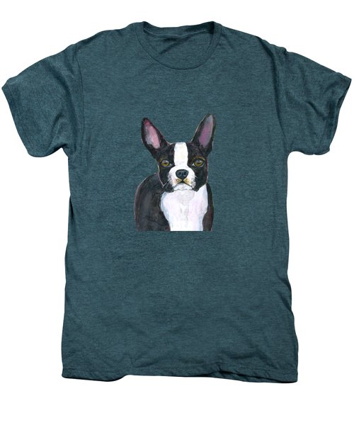 Boston Terrier Dog Men's Premium T-Shirt