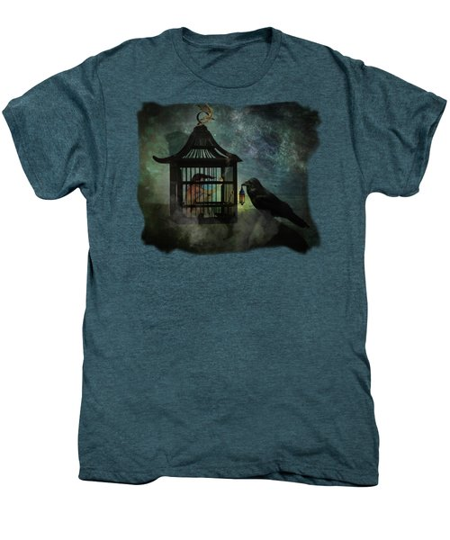 Captivity Men's Premium T-Shirt by Terry Fleckney