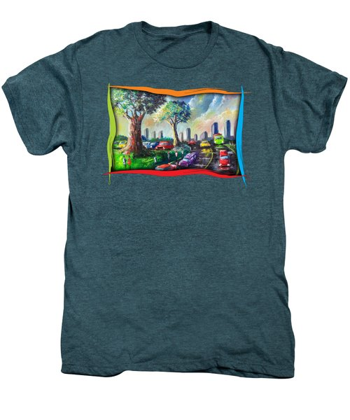 City Life Men's Premium T-Shirt