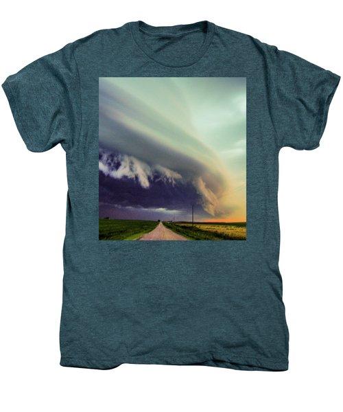 Classic Nebraska Shelf Cloud 024 Men's Premium T-Shirt