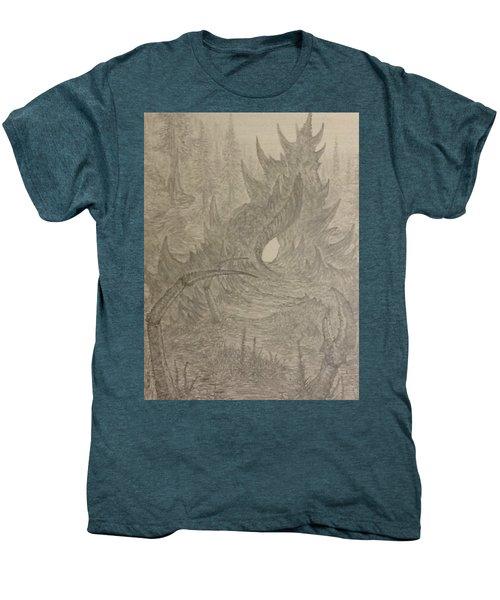 Coastal Castle Men's Premium T-Shirt by Corbin Cox