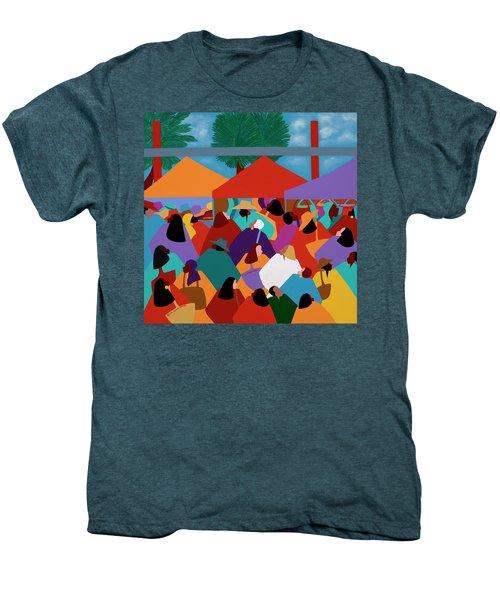 Curacao Market Men's Premium T-Shirt